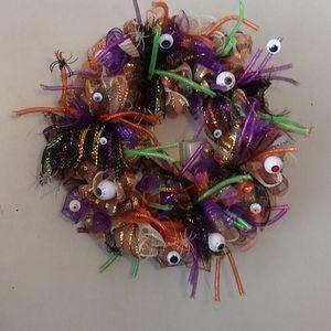 Handcrafted Halloween Wreath